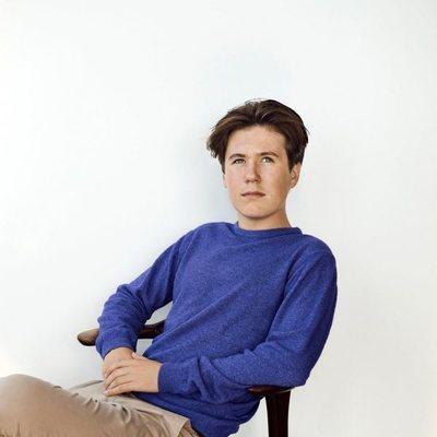 Posado de Christian de Dinamarca a los 15 años