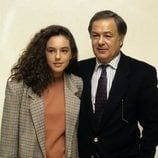Pedro Carrasco con su hija Rocío Carrasco