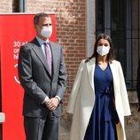 Los Reyes Felipe y Letizia en el acto con motivo del Día Internacional del Libro