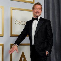 Brad Pitt en los Oscars 2021