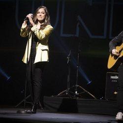 María Parrado en el concierto Únicas de Cadena Dial