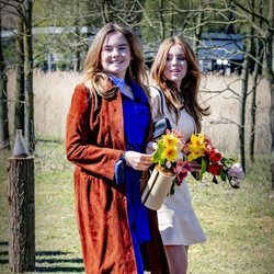 Alexia y Ariane de Holanda en el Día del Rey 2021