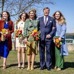 La Familia Real Holandesa en el Día del Rey 2021