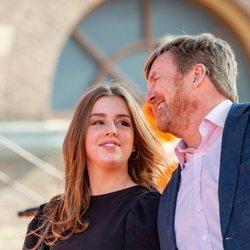 Guillermo Alejandro de Holanda y Alexia de Holanda en el concierto del Día del Rey 2021