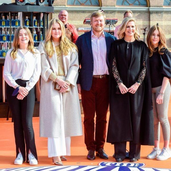 La Familia Real Holandesa celebra el Día del Rey 2021
