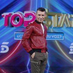 Jesús Vázquez en la presentación del programa 'Top Star'