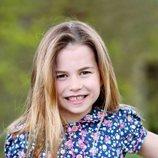 La Princesa Carlota en su sexto cumpleaños