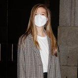 La Infanta Sofía tras acudir a la ópera en el Teatro Real