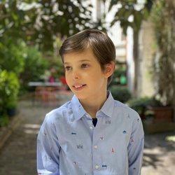 Enrique de Dinamarca en su 12 cumpleaños