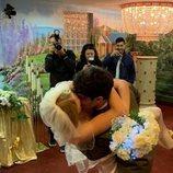 Joe Jonas y Sophie Turner se besan tras casarse en Las Vegas