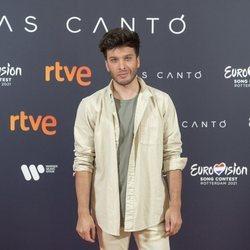 Blas Cantó en su despedida antes de poner rumbo a Eurovisión 2021