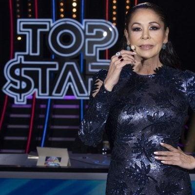 Isabel Pantoja posa en el primer programa de 'Top Star'