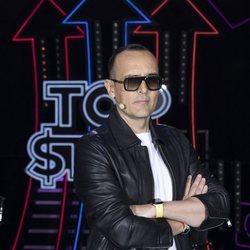 Risto Mejide en el primer programa de 'Top Star'