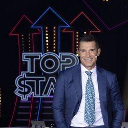 Jesús Vázquez en el primer programa de 'Top Star'