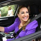 Blanca de Novales en la boda de Alejandra Ruiz de Rato y Ernesto de Novales