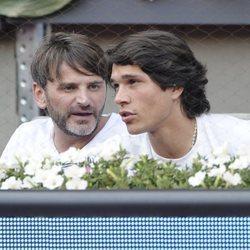 Fernando Tejero y Pablo Castellano en el Madrid Open de Tenis 2014