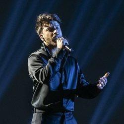 Blas Cantó es fotografiado durante el primer ensayo de Eurovisión 2021
