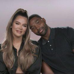 Khloé Kardashian y Tristan Thompson en la temporada 20 de 'Keeping Up With The Kardashians'