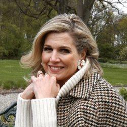 Máxima de Holanda posa en Huis Ten Bosch por su 50 cumpleaños