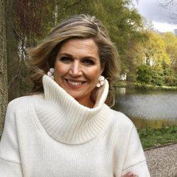 Máxima de Holanda en su 50 cumpleaños