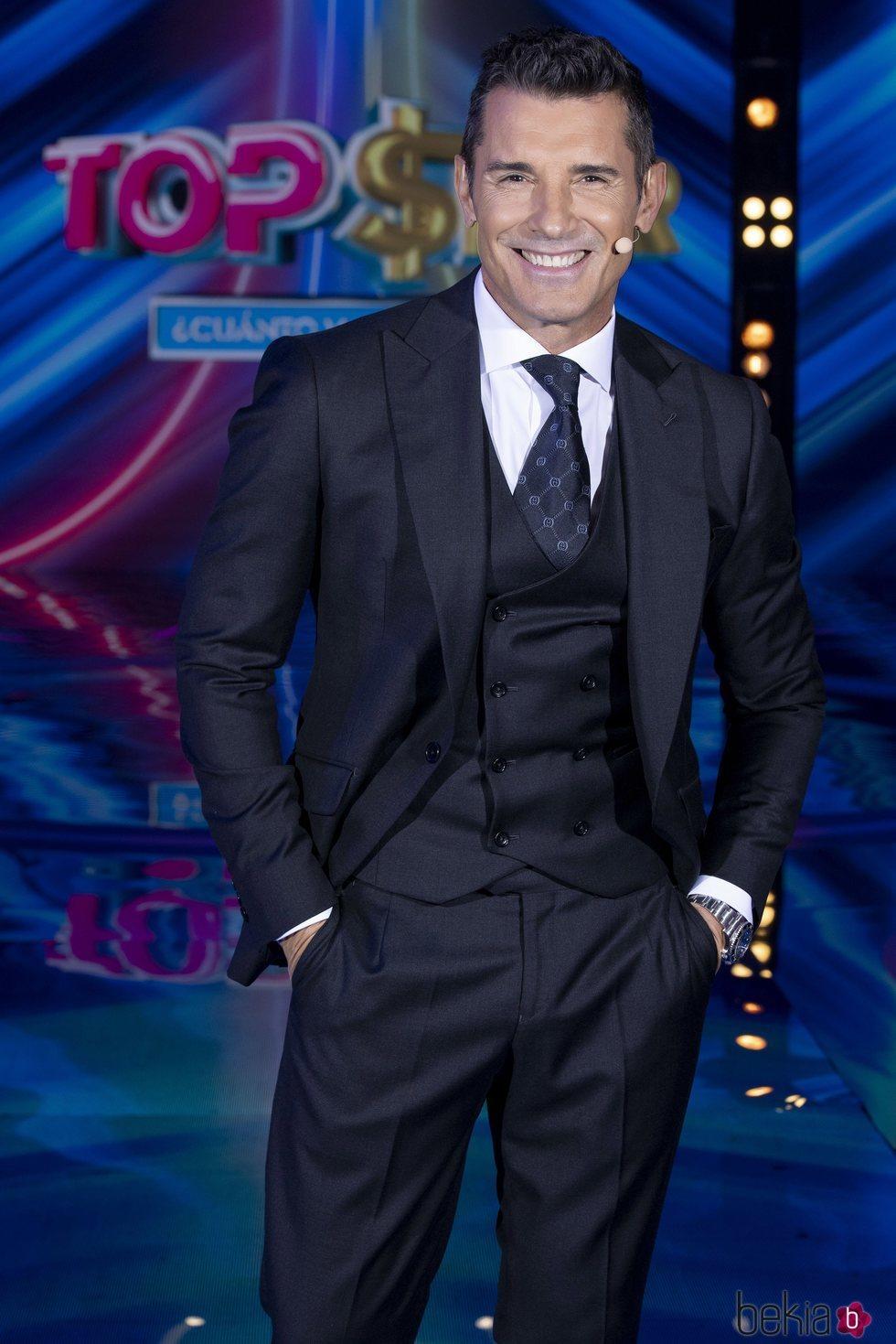 Jesús Vázquez en el segundo programa de 'Top Star'