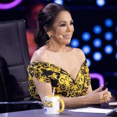 Isabel Pantoja durante el segundo programa de 'Top Star'