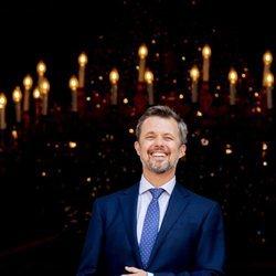 Federico de Dinamarca en su 50 cumpleaños