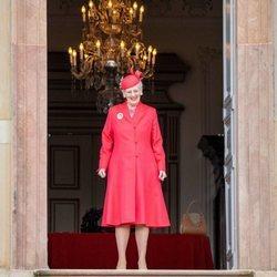 Margarita de Dinamarca en la Confirmación de Christian de Dinamarca