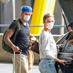 Juana Acosta con Charles Azalet de vuelta en Madrid