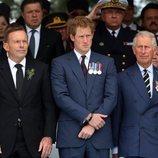El Príncipe Carlos y el Príncipe Harry en Turquía