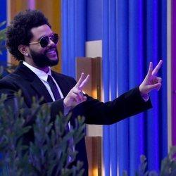 The Weeknd en los Billboard Music Awards 2021