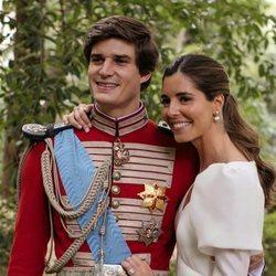 Carlos Fitz-James Stuart y Belén Corsini, muy felices en su boda