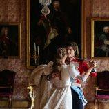 Carlos Fitz-James Stuart y Belén Corsini bailando en su boda