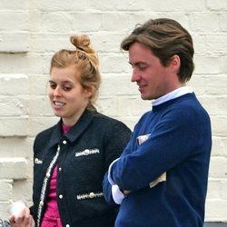 Beatriz de York y Edoardo Mapelli Mozzi tras anunciar que esperan su primer hijo en común