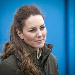 Kate Middleton en el Centro Europeo de Energía Marina en las Islas Orcadas durante su viaje a Escocia