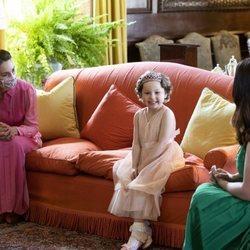 Kate Middleton y Mila Sneddon en el Palacio de Holyroodhouse
