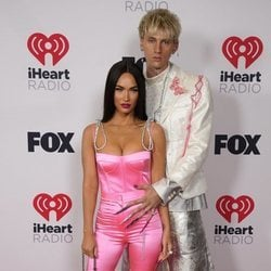 Megan Fox y Machine Gun Kelly en los I Heart Radio Music Awards 2021