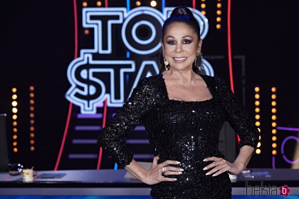 Isabel Pantoja en el tercer programa de 'Top Star'