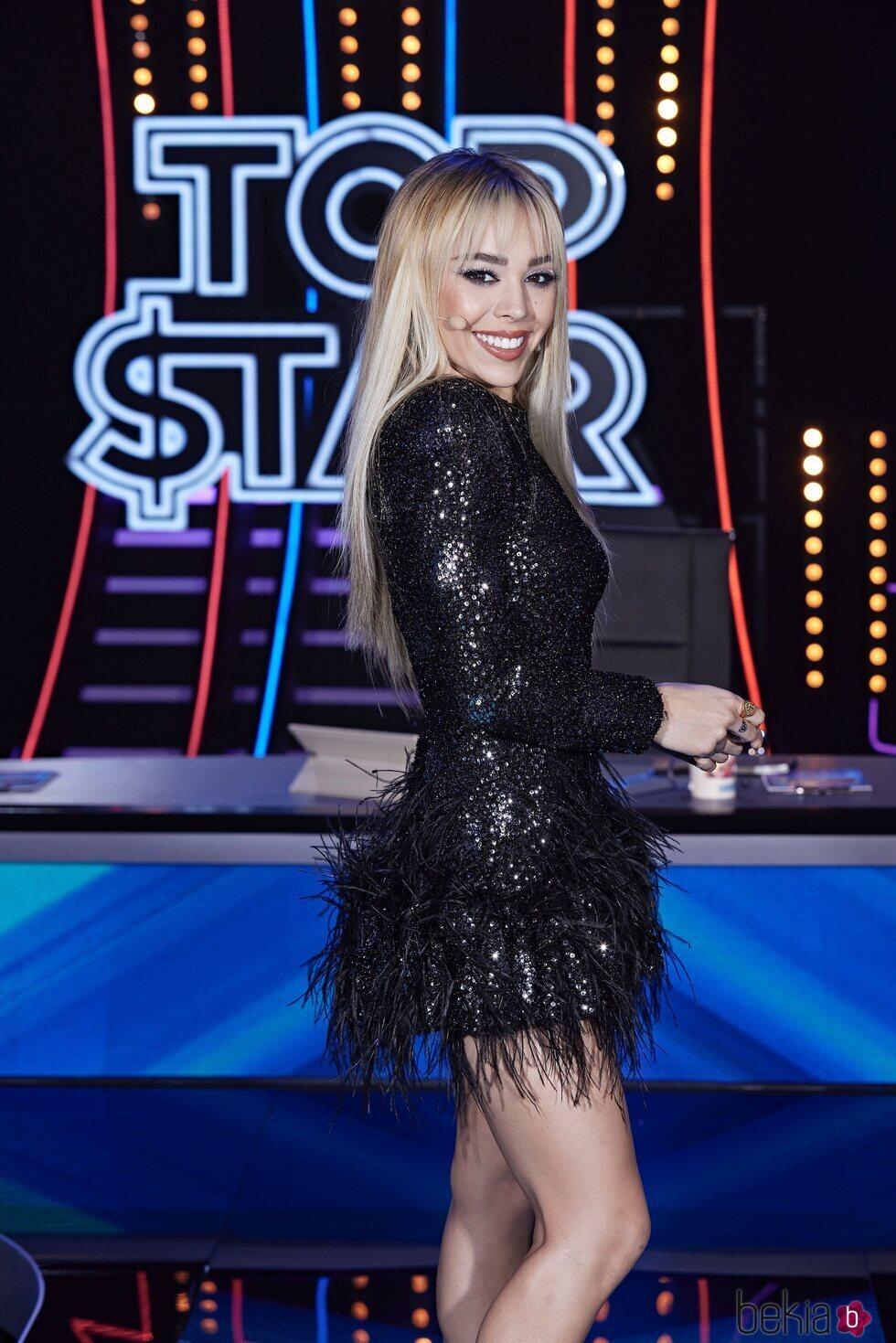 Danna Paola en el tercer programa de 'Top Star'
