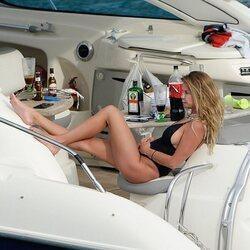Makoke disfrutando del mar de Mallorca