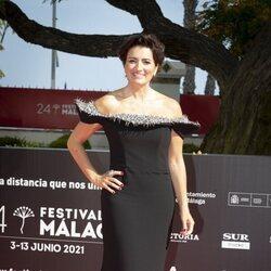 Silvia Abril en la gala de inauguración del Festival de Málaga 2021