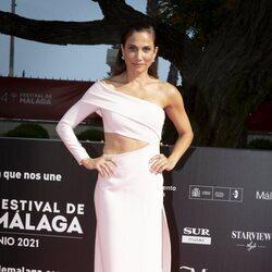 Toni Acosta en la gala de inauguración del Festival de Málaga 2021