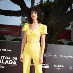 Blanca Romero en la gala de inauguración del Festival de Málaga 2021