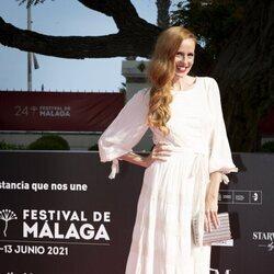 María Castro en la gala de inauguración del Festival de Málaga 2021