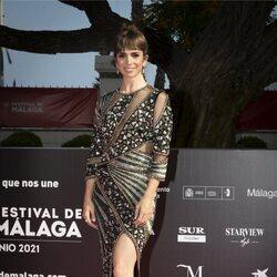 Elena Furiase en la gala de inauguración del Festival de Málaga 2021