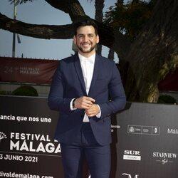 Fran Perea en la gala de inauguración del Festival de Málaga 2021