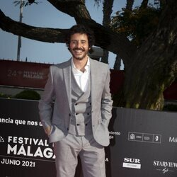 Javier Pereira en la gala de inauguración del Festival de Málaga 2021