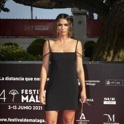 Michelle Calvó en la gala de inauguración del Festival de Málaga 2021