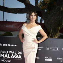 Melani Olivares en la gala de inauguración del Festival de Málaga 2021