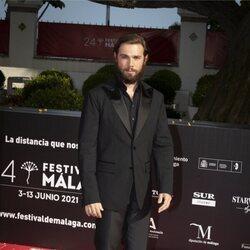 Carlos Cuevas en la gala de inauguración del Festival de Málaga 2021